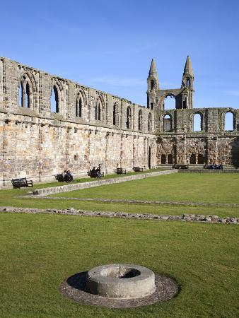 St Andrews Cathedral, St Andrews, Fife, Scotland