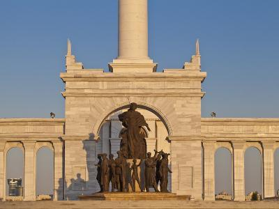 Kazakyeli Monument (Kazakh Country), Astana, Kazakhstan, Central Asia, Asia