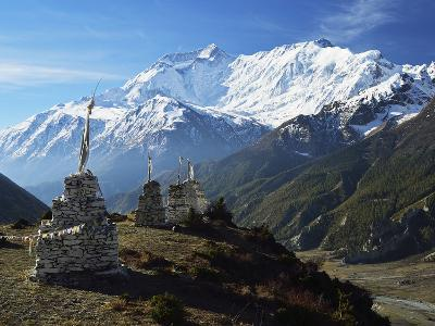 Annapurna Himalayan Range, Marsyangdi River Valley, Gandaki, Western Region (Pashchimanchal), Nepal