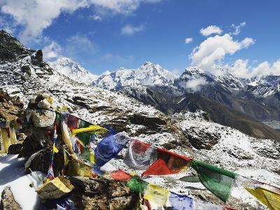 Renjo Pass of Everest Himalayan Range, Sagarmatha Nat'l Park, UNESCO World Heritage Site, Nepal