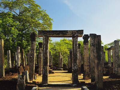 Ancient City of Polonnaruwa, UNESCO World Heritage Site, Polonnaruwa, Sri Lanka, Asia