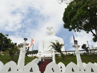 Bahirawakanda Temple Buddha, Kandy, Sri Lanka, Asia