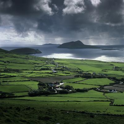 Blasket Sound to Blasket Islands and Slea Head, Dingle Peninsula, Munster, Republic of Ireland
