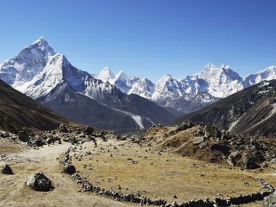 Ama Dablam, Sagarmatha Nat'l Park, UNESCO World Heritage Site, Nepal