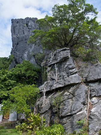 The Linderalique Rocks, Hienghene, East Coast of Grande Terre, Melanesia, South Pacific