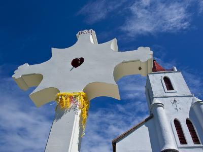 Church Near Pouebo on the East Coast of Grande Terre, New Caledonia, Melanesia, South Pacific