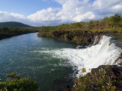 The Waterfalls Chutes de La Madeleine, South Coast of Grande Terre, New Caledonia, South Pacific