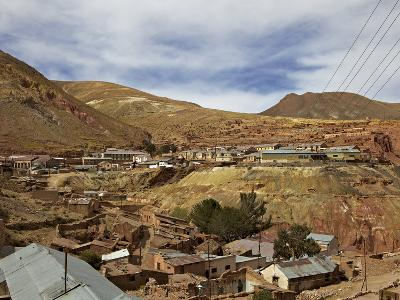 Old Mining Ghost Town of Pulacayo, Famously Linked to Butch Cassidy and Sundance Kid, Bolivia