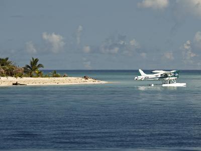 Boat Plane Off West Coast of Viti Levu, Fiji, Pacific Islands, Pacific