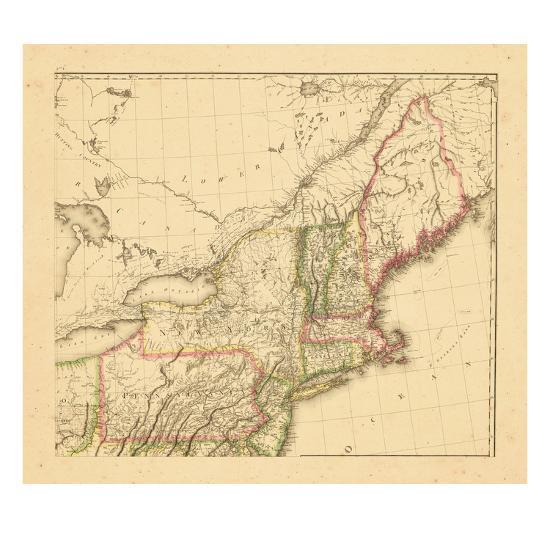1812, New Hampshire, Massachusetts, Maine, Connecticut, New Jersey ...