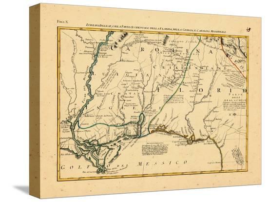 1778 Alabama Florida Louisiana Mississippi North Carolina