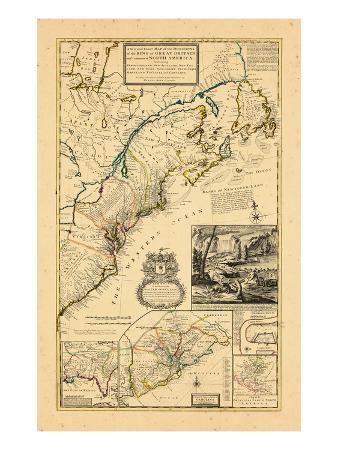 1732, Maryland, New Brunswick, New Jersey, New York, Newfoundland and Labrador, North Carolina