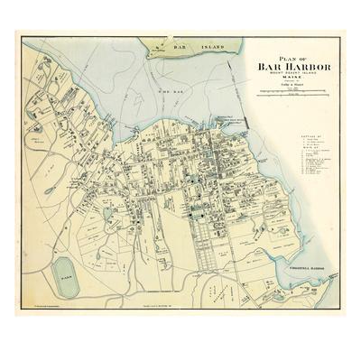1887, Bar Harbor 1887, Maine, United States