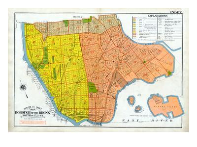 Bronx Index Map