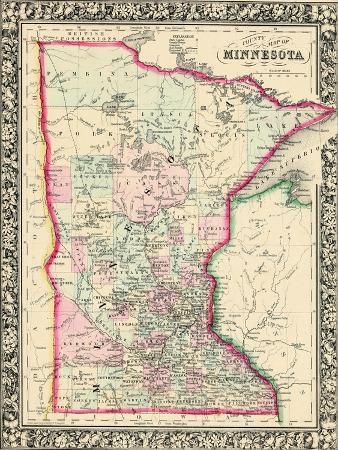 1864, United States, Minnesota, North America, Minnesota