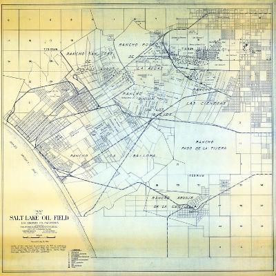 1919, Los Angeles Salt Lake Oil Field, California, United States