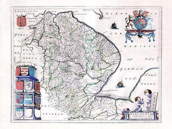 Map Of England 1800.1800 England Lincolnshire