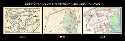 1874, Fenway Area Development Composite to 1912, Massachusetts, United States