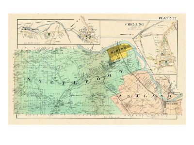 Southport, Ashland, Pine City, Webs Mills, New York, United States, 1904