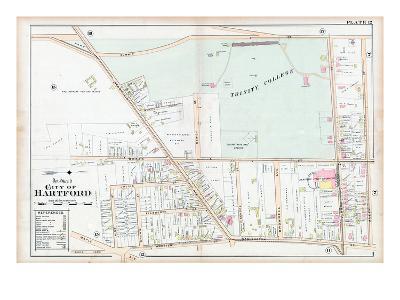 1896, Trinity College, Hartford, Connecticut, United States