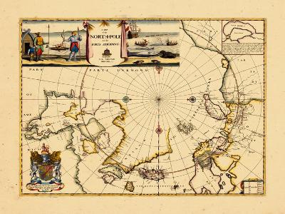 1680, North Pole, World
