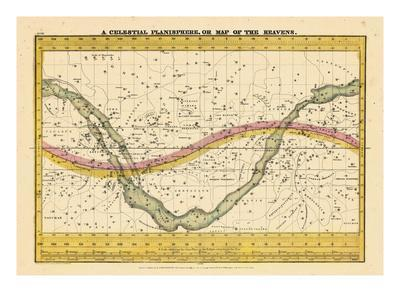 1835, Map of the Heavens