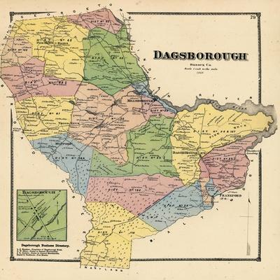 1868, Dagborough, Dagborough Town, Delaware, United States