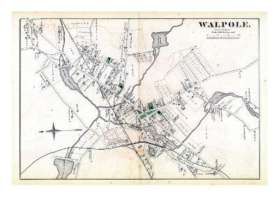 1876, Walpole Town, Massachusetts, United States