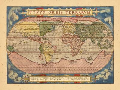 1570, World