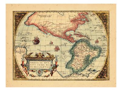 1574, North America, South America, World, Western Hemisphere