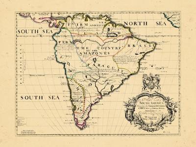 1701, South America