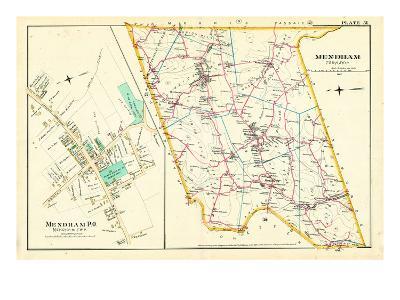 1887, Mendham Township, Mendham P.O., New Jersey, United States
