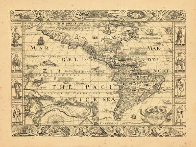 1660, North America, South America, World