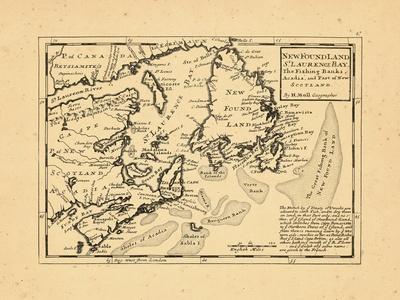 1736, Newfoundland and Labrador, Nova Scotia