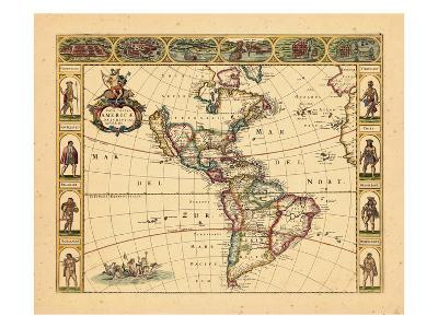 1666, South America, North America, World