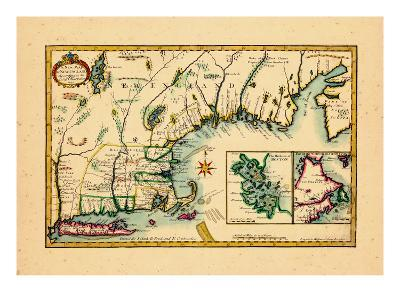 1720, New England, Connecticut, Maine, Massachusetts, New Hampshire, Rhode Island, Vermont
