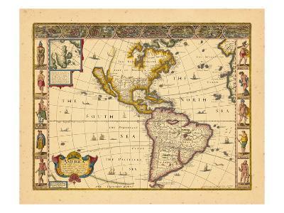 1676, North America, South America, World, Antarctica
