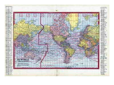 1917, World Map