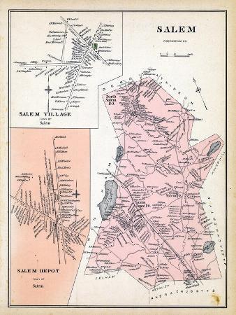 1892, Salem, Salem Village, Salem Depot, New Hampshire, United States