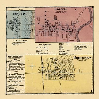 1868, Port Penn, Odessa, Middletown, Delaware, United States