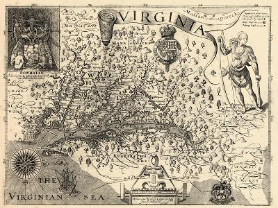 1606, Virginia and Jamestown Described by Captain John Smith, Virginia