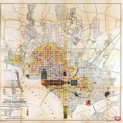 1891, Valuation of Real Property, District of Columbia, United States