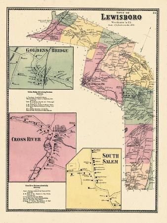1867, Lewisboro, Goldens Bridge, Cross River, Salem South, New York, United States