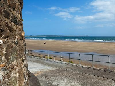 The Strand in Tramore, County Waterford, Ireland