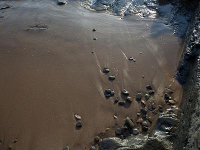 Rock Formations on the Beach, San Diego, California, USA