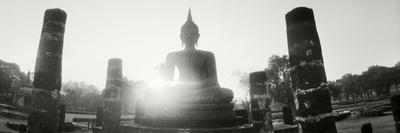 Statue of Buddha at Sunset, Sukhothai Historical Park, Sukhothai, Thailand
