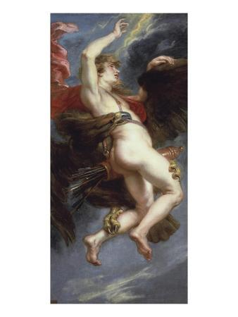 The Rape of Ganymede by Eagle of Zeus