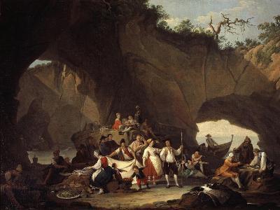 Peasant Picnic in Grotto
