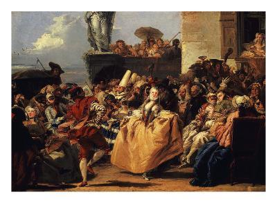 Carnival Scene, or the Minuet
