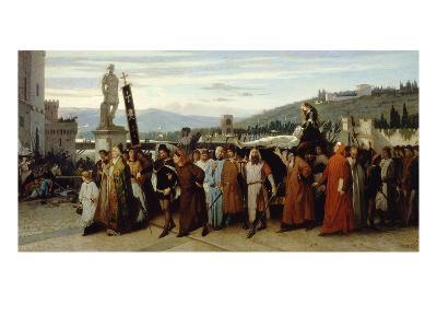 I Funerali Di Buondelmonte (Funeral of Buondelmonte), 1860